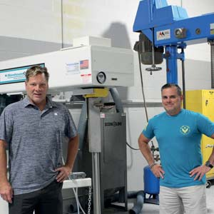 Christopher O'Brien, CEO and Michael Ballou, President, Prime Coat Coating Systems
